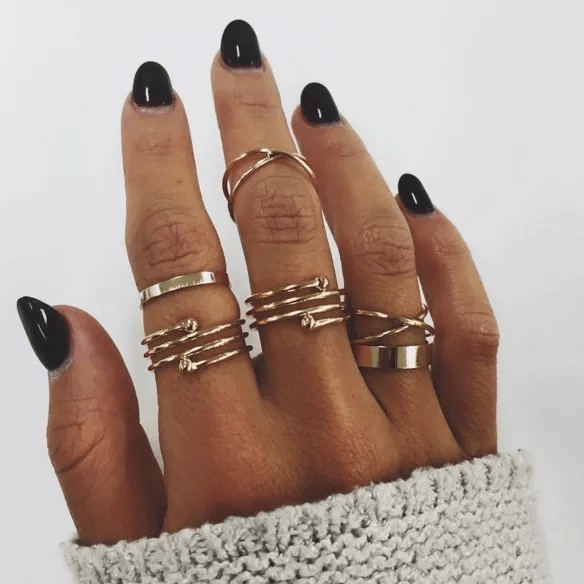 6 Pcs Gold Spiral Ring Set.click hear to shop more beautiful rings. Shop all musthave jewellery by aphrodite. Free worldwide shipping and gift.