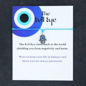 armband met betekenis., touw armband, boze oog, evil eye, blauw, dames, sieraad, sieraden, jewellery, jewelry