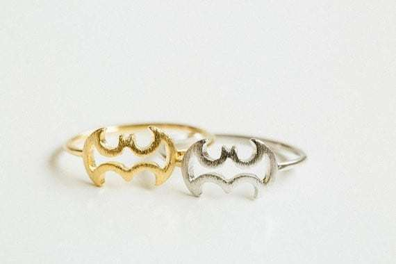 Batman ring.click here to shop more beautiful rings. Shop all musthave jewellery by aphrodite. Free worldwide shipping and gift.