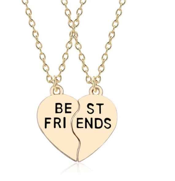 bff necklace, best friends forever, jewellery, necklace