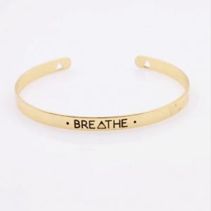 Armband met tekst Breath, quote,sieraden,musthave