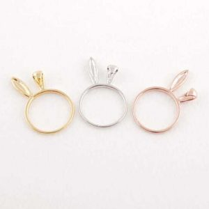 Bunny Ears Ring. Click here for more cute rings. Shop all musthave jewellery by Aphrodite. Free worldwide shipping and gift.