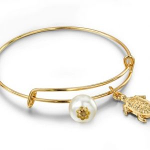bangle bracelet, turtle, pearl, jewellery, aphrodite, fashion