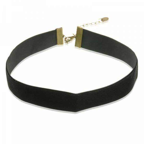 Zwarte Velvet Choker. Klik hier voor meer leuke bruine en zwarte choker. Shop alle musthave sieraden bij Aphrodite. Gratis verzending en cadeau.