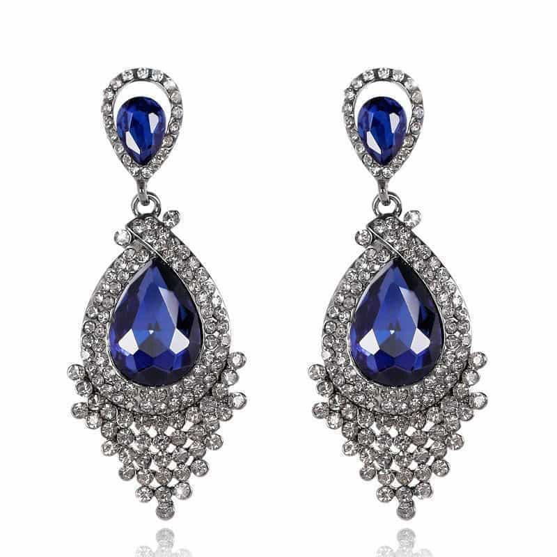 sri gemstones sku shape round au sapphire earrings gemstone lanka carat blue lankan