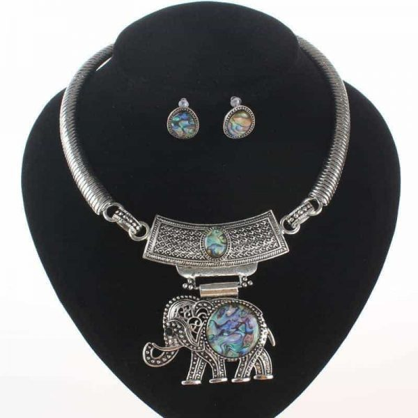 Bohemian Elephant Jewellery Set.click hear to shop more beautiful necklaces. Shop all musthave jewellery by aphrodite. Free worldwide shipping and gift.