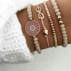 bracelet set, heart, jewellery, infinity,