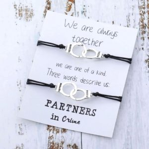 armbanden set, partners in crime, bff armband, vriendschap