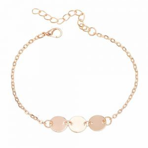 Bracelet With Gold Discs. Click here for more beautiful delicate bracelets. Shop all musthave jewellery by Aphrodite. Free worldwide shipping and gift.