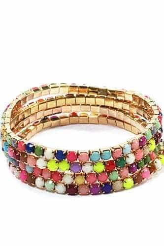 brighten will favorite diy colorful bracelets day your that wrapped yarn bracelet