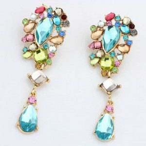 Colorful Statement Earrings. Click here for more beautiful statement earrings. Shop all musthave jewellery by Aphrodite. Free worldwide shipping and gift.