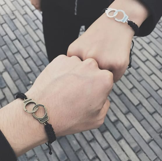 Couple. bracelet set