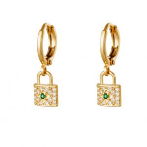 creole earrings, zirkonia, jewellery, jewelry