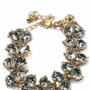 Statement Bracelet With Crystals. Click here for more beautiful bracelets. Shop all musthave jewellery by Aphrodite. Free worldwide shipping and gift.