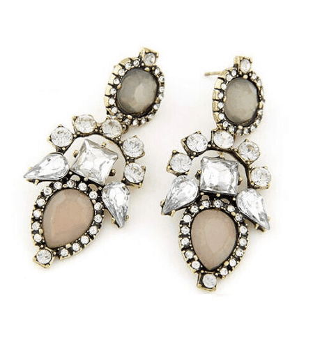 Crystal Statement Earrings. Click here for more beautiful statement earrings. Shop all musthave jewellery by Aphrodite. Free worldwide shipping and gift.