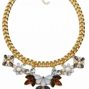 Crystal Statement Necklace. click hear to shop more statement necklaces. Shop all musthave jewellery by aphrodite. Free worldwide shipping and gift.