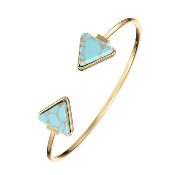 Cuff Armband Marmer-Blauw.Klik hier voor meer leuke armbanden.Shop alle musthave sieraden bij aphrodite. Gratis verzending en cadeau.Bestel snel en veilig.