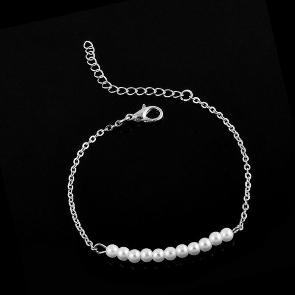 Delicate Bracelet With Pearls. Click here for more delicate bracelets. Shop all musthave jewellery by Aphrodite. Free worldwide shipping and gift.