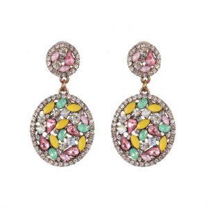 diamanten oorbellen, kristallen, zirkonia, groot, sieraden, accessoires, dames
