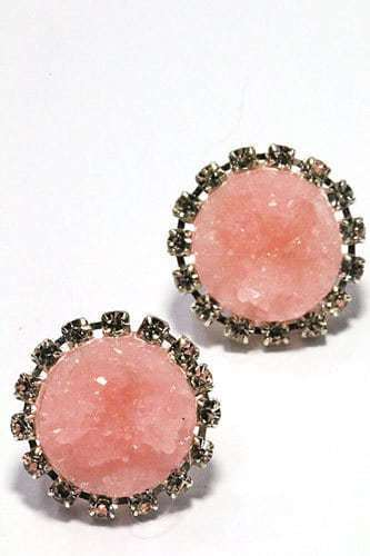 Druzy Earrings.click hear for more delicate earrings.shop all musthave jewellery by aphrodite.Free worldwide shipping and gift