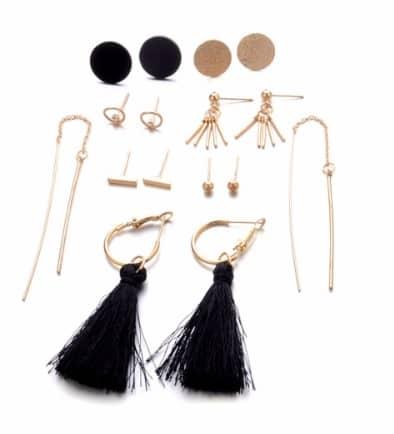 a473b5ce4 earrings set, 8 pcs, hoops earrings, stud · Earrings Set Bar