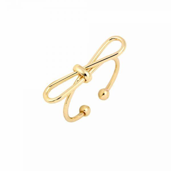gouden strik ring.Voor meer leuke ringen klik hier.Shop alle musthave sieraden bij aphrodite.Bestel snel en veilig.Gratis verzending en cadeau.