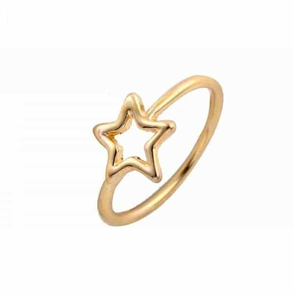 Simple Gold Star Ring. click hear to shop more beautiful rings. Shop all musthave jewellery by aphrodite. Free worldwide shipping and gift.