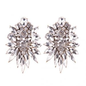 Glamour Statement Oorbellen, kristallen, grote oorbellen,fashion,trendy