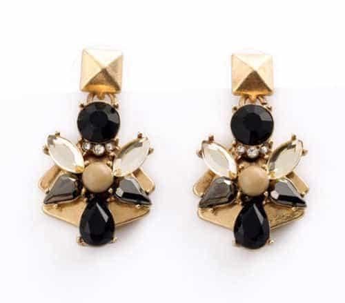 goud statement oorbellen, sieraden, fashion, musthave ,grote earrings