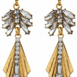 Golden Statement Earrings. Click here for more beautiful statement earrings. Shop all musthave jewellery by Aphrodite .Free worldwide shipping and gift.
