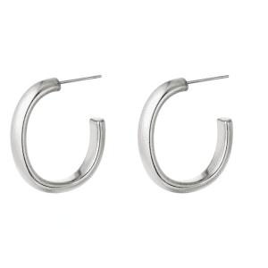 hoop oorbellen, sieraden, oorringen, creolen, dames, accessoires, sieraden, stainless steel, roestvrij staal