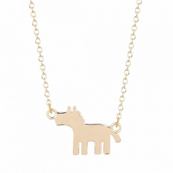 Horse Necklace. Click here for more beautiful delicate necklaces. Shop all musthave jewellery by Aphrodite. Free worldwide shipping and gift.