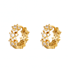 huggie oorbellen, oorringen, creolen, diamant, sieraden, dames, accessoires