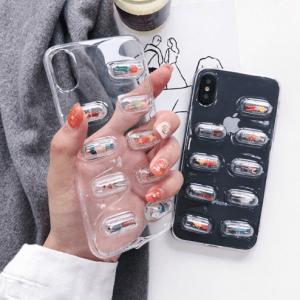 Iphone Telefoonhoesje Capsule Pillen Mensen
