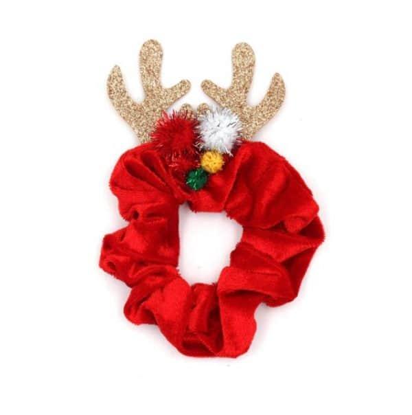kerst, scrunchie, haarwokkel, christmas, haaraccessoires, accessoires