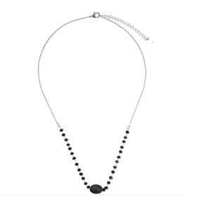 ketting met kralen, zilverkleurig, stainless steel, sieraden, accessoires, jewellery
