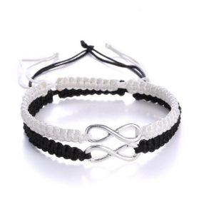 koppel armbanden, infinity, stelletjes, vriend, vriendin, matching, relatie