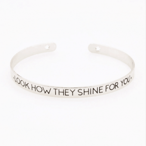 Cuff Bracelet ''Look How They Shine For You''. Click here for more cuff bracelets. Shop all musthave jewellery by Aphrodite. Free worldwide shipping.
