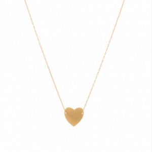 Minimalistic Necklace Heart-Gold And Silver.Click here for more delicate necklaces. Shop all musthave jewellery by Aphrodite. Free worldwide shipping.