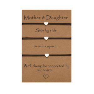 moeder, 2 dochters, armbanden set, sieraden, moederdag, moeder, dochter