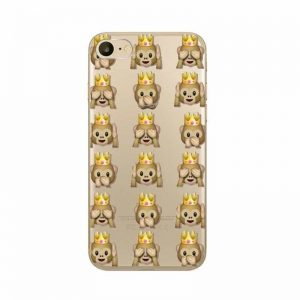 Monkey with Crown Case Cover