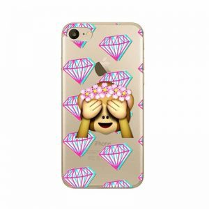 Monkey with Diamonds Case Cover