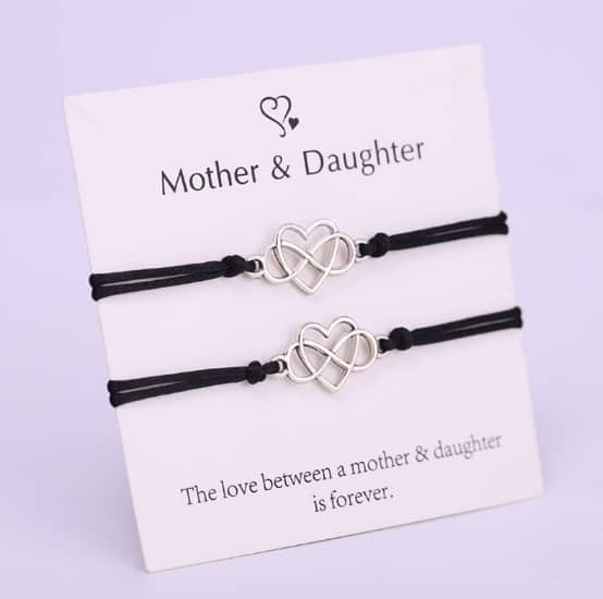 mother and daughter, bracelet, rope bracelets, jewellery , mothersday