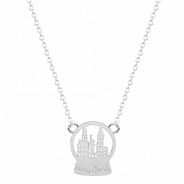 Newyork Necklace.Click here for more beautiful delicate necklaces. Shop all musthave jewellery by Aphrodite. Free worldwide shipping and gift.
