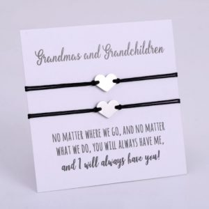 oma, kleindochter, armbanden, set, mama, grootmoeder, moederdag, sieraden