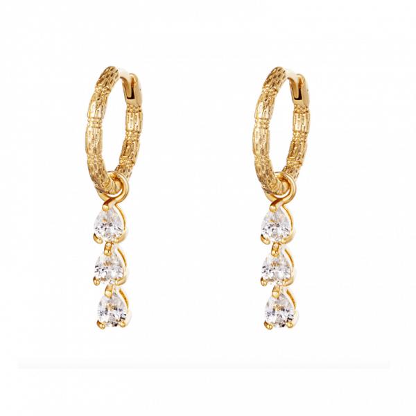 oorbellen met hanger, zirkonia, nikkel vrij, dames, sieraad, sieraden, diamanten