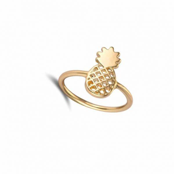 goud ananas ring.Voor meer leuke ringen klik hier.Shop alle musthave sieraden bij aphrodite.Bestel snel en veilig.Gratis verzending en cadeau.