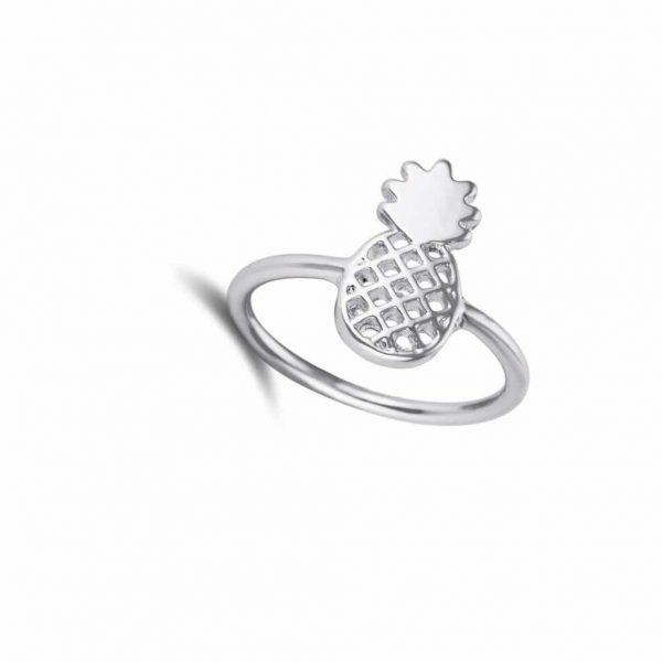 Ananas Ring-Zilver.Voor meer leuke ringen klik hier.Shop alle musthave sieraden bij aphrodite.Bestel snel en veilig.Gratis verzending en cadeau.