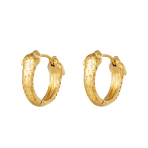 panther earrings, stainless steel, nickel free, jewellery, jewelry