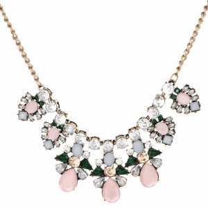 Pink Crystal Statement Necklace. Click here for more beautiful statement necklaces. Shop all musthave jewellery by Aphrodite. Free worldwide shipping.